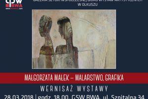 Zapraszamy na wernisaż wystawy Małgorzaty Małek