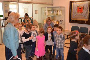 Wizyta najmłodszych mieszkańców Olkusza w olkuskim magistracie