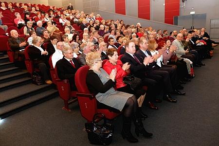 Publiczność zgromadzona na sali
