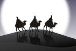 Grafika - orszak trzech króli