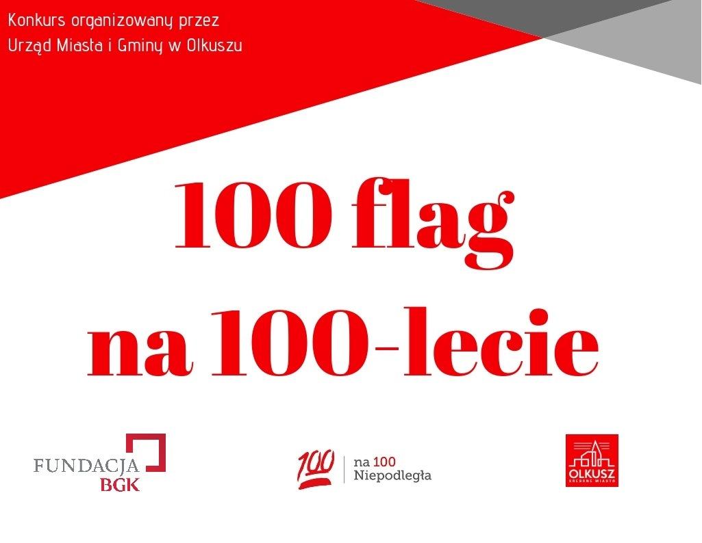"""Konkurs """"100 flag na 100-lecie niepodległości"""""""